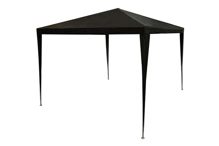 Antraciete tuinprieel - partytent van Lifetime (3 x 3 m)