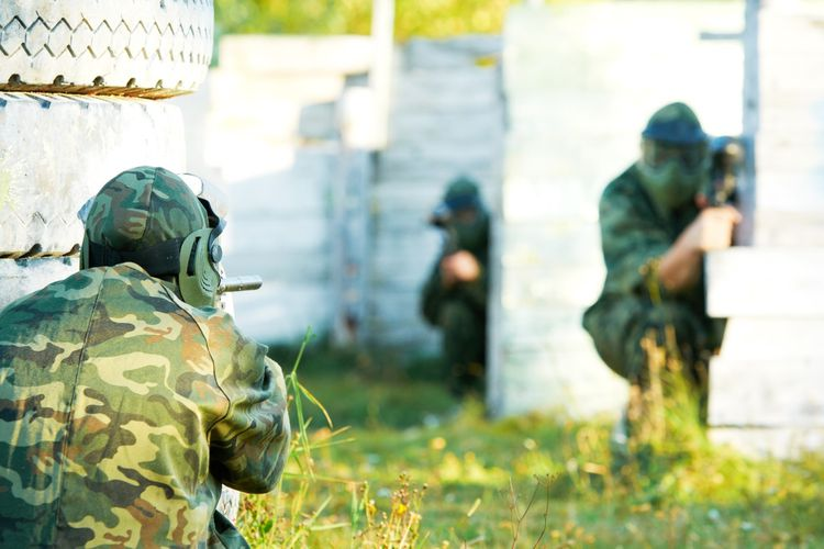 Outdoor paintball en airsoft in Harderwijk (12 p.)