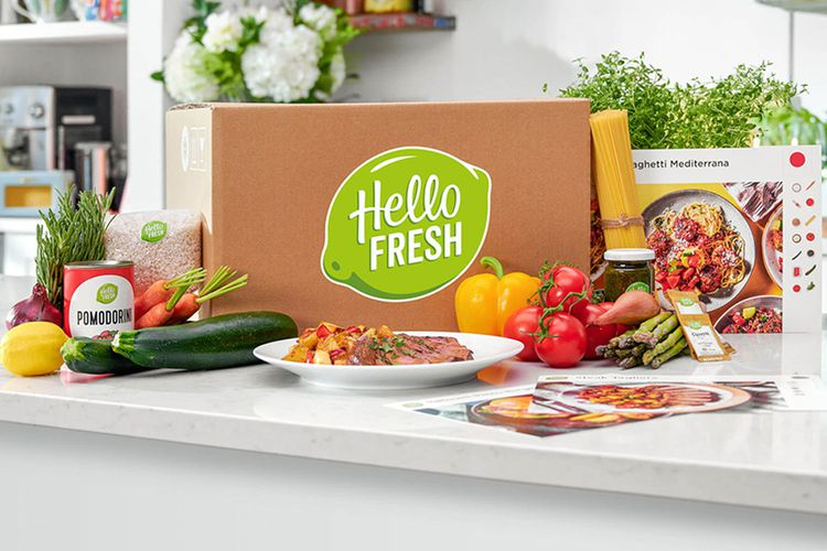 3 maaltijden van HelloFresh thuisbezorgd (2 p.)