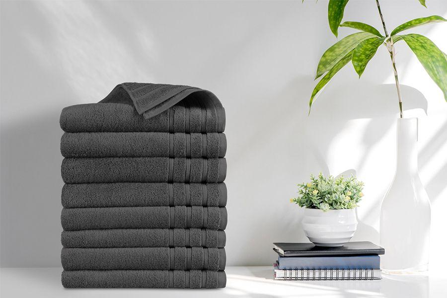 Korting 8 luxe handdoeken van EMSA Bedding (50 x 100 cm)