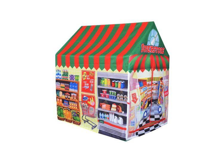 Supermarkt speeltent (95 x 75 x 102 cm)