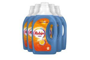 5 flessen wasmiddel van Robijn