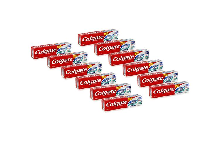 12 tubes tandpasta van Colgate Triple Action