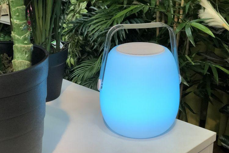 So Play - oplaadbare lantaarn met speaker (multicolor)