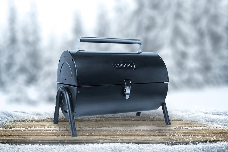 Draagbare barbecue van Buccan (Tilpa Portable Barrel)