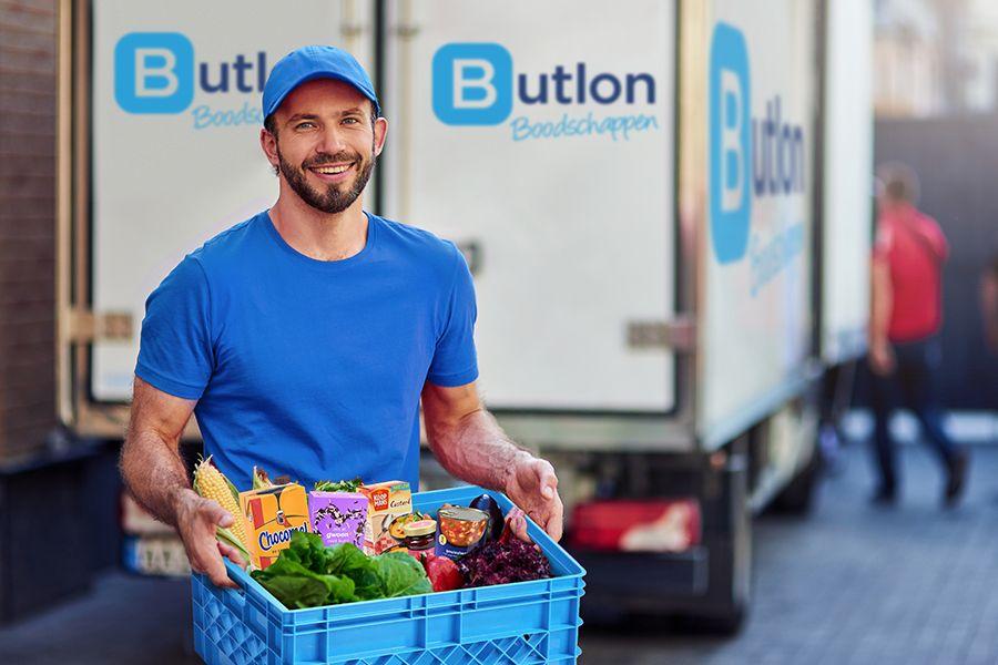 1 minuut gratis winkelen bij online supermarkt Butlon