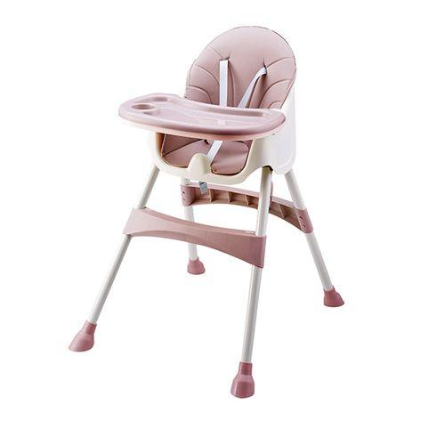 Roze 2-in-1 kinderstoel