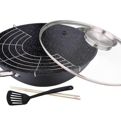 Gietijzeren wokpan (ø 28 cm)