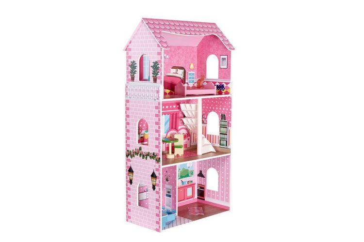 Houten poppenhuis Chantal