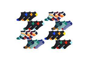 Set van 24 enkelsokken van Gianvaglia (maat 39 - 42)
