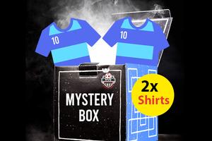 Mystery box met 2 voetbalshirts voor kinderen