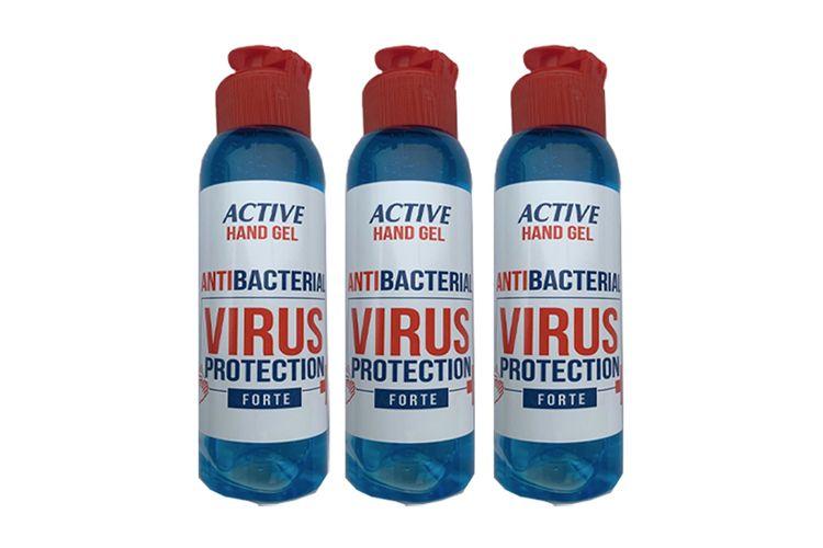 3 flesjes desinfecterende handgel (3 x 100 ml)