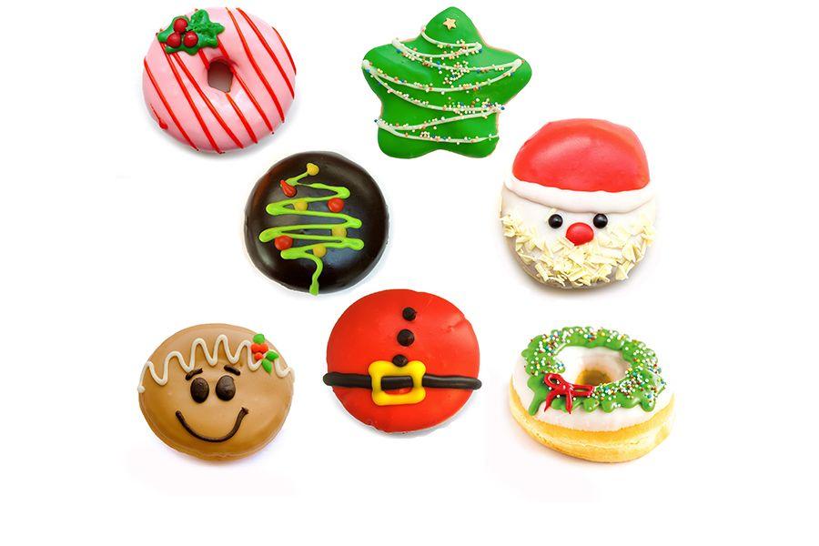 24 verschillende donuts van Dunkin' Donuts