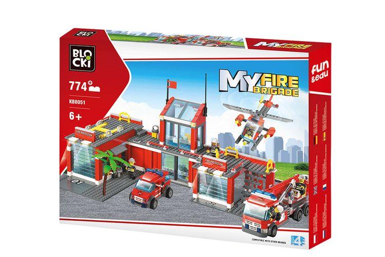 Brandweerkazerne van Blocki (774 stukjes)