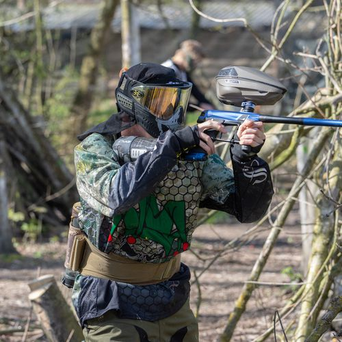 2 uur paintball met 6 tot 10 personen in Almere