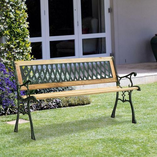 Gietijzeren tuinbank van Lifa Garden