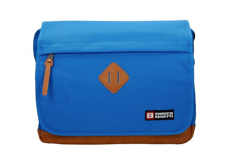 Schoudertas van Enrico Benetti (kleur: lichtblauw)