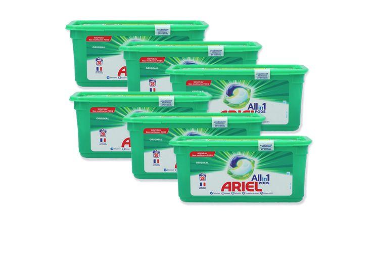 Korting Ariel wasmiddel All in 1 Pods Regular (84 pods)