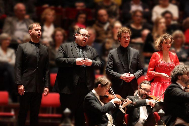 Concert Mozart Requiem in Het Concertgebouw Amsterdam