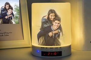 € 120,- korting op gepersonaliseerde bluetooth audiolamp