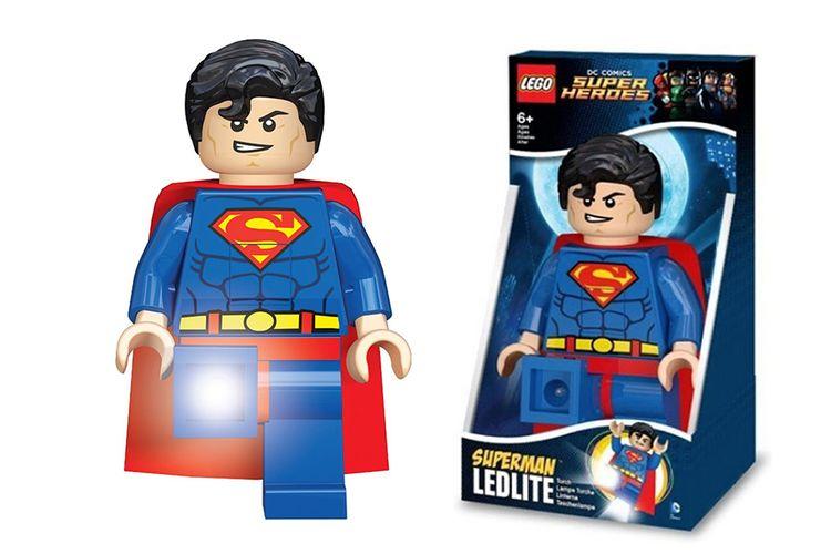 Superman-minifiguur van LEGO (serie: DC Superheroes)