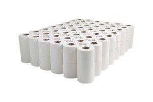 Een kast vol zacht, 2-laags toiletpapier (96 rollen)