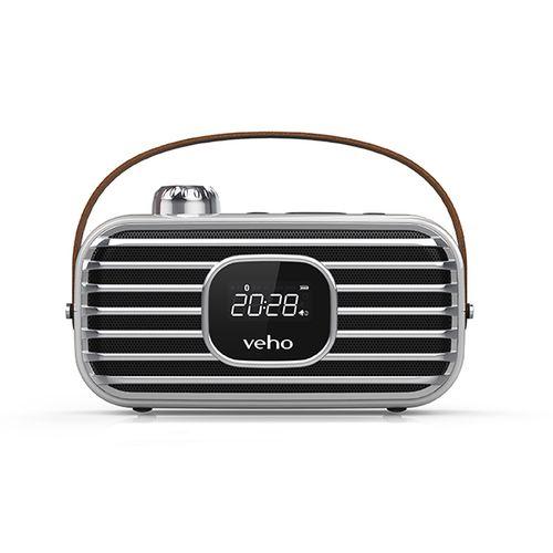 DAB radiowekker en bluetooth-speaker van Veho