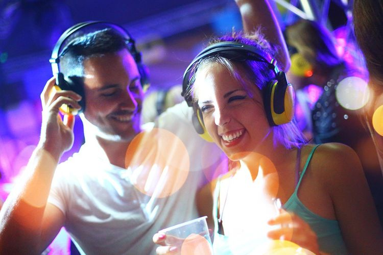 Hush Silent Disco Club Amsterdam
