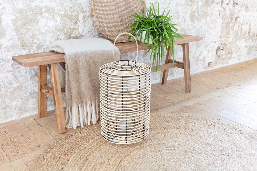 Lantaarn van bamboe (45 cm)