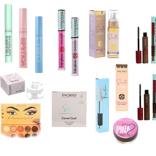 Make-upset van Ingrid Cosmetics
