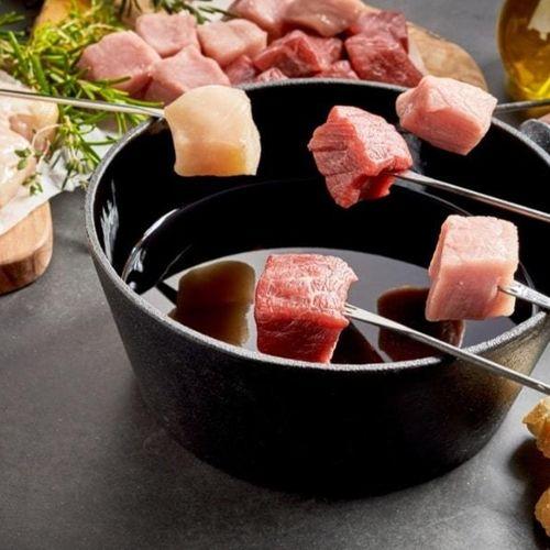 Gourmet of fonduepakket thuisbezorgd (3 p.)