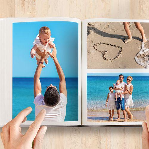Fotoboek staand of liggend