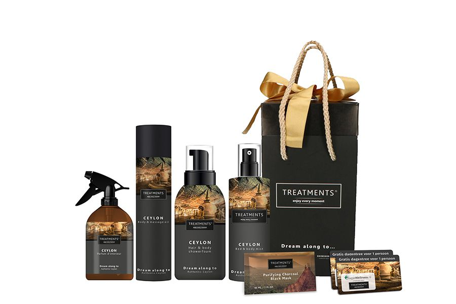 Ceylon-giftbox van TREATMENTS� + dagje wellness