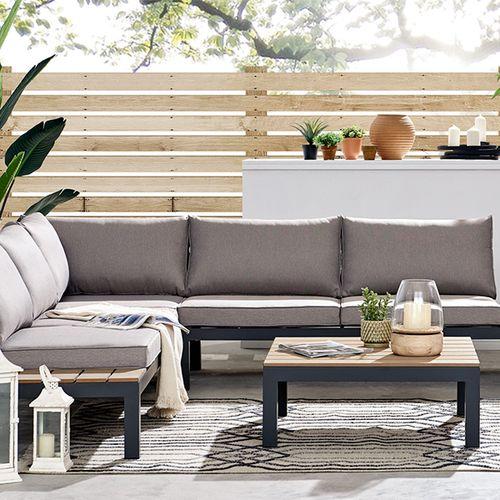 Aluminium loungeset van Feel Home (model: Sicilia)
